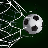 Goal Set 4. Green Goal Set 4 vector drawing Royalty Free Illustration