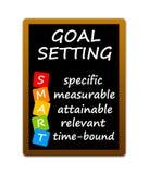 Goal setting royalty free illustration