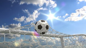 Goal!! Royalty Free Stock Photography
