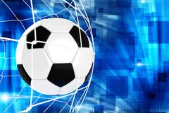 Goal Soccer Illustration Royalty Free Stock Photos