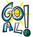 Goal soccer. royalty free illustration