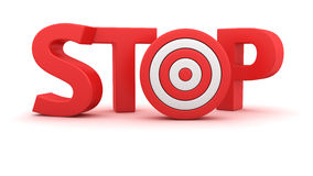Goal for the Stop Stock Photos