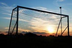 Goal  sunset Stock Photography