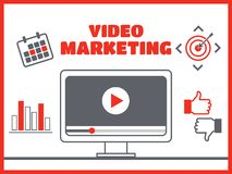 Goal and target, aim camera, optimization marketing. Video marketing. Abstract  concept background. Goal and target, aim and camera, optimization marketing Royalty Free Stock Photo