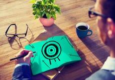 Goal Target Success Aspiration Aim Inspiration Concept Stock Image