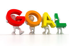 Goal Team Stock Photo