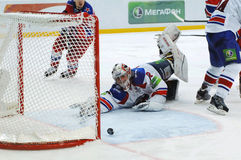 Free Goal To Lev Team. Slow Roll Into Gate Royalty Free Stock Image - 29571786
