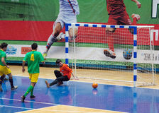 Goal to Volonteers team gate Royalty Free Stock Photo
