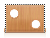 Goal Wall Wooden Football Soccer Game Stock Photography