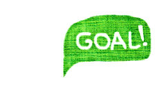 Goal Royalty Free Stock Images