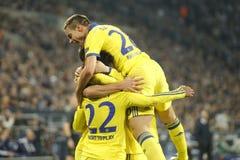 Goal William FC Schalke v FC Chelsea 8eme Final Champion League Stock Image