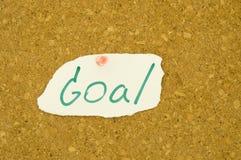 Goal word Royalty Free Stock Photos