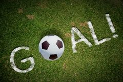 Goal word Royalty Free Stock Photography