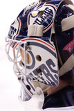 Goalie Jeff Deslauriers of the NHL Edmonton Oilers Stock Photography