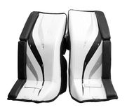 Goalie pads Royalty Free Stock Photography