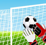 Goalkeeper Stock Images