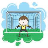 Goalkeeper Royalty Free Stock Photography