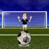 Goalkeeper Royalty Free Stock Images