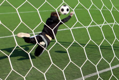The goalkeeper Royalty Free Stock Image