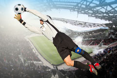 Goalkeeper Stock Photography