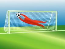 GoalKeeper Royalty Free Stock Photos