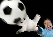 Goalkeeper Stock Image