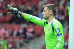 goalkeeper stock afbeelding