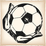goalkeeper illustration libre de droits