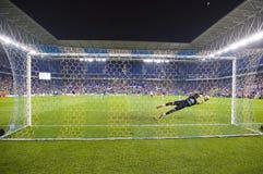 goalkeeper royalty-vrije stock fotografie