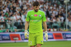 goalkeeper royalty-vrije stock afbeeldingen