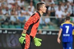 goalkeeper royalty-vrije stock afbeelding