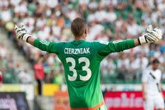 goalkeeper Fotografia Stock