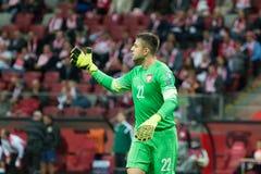 goalkeeper stock foto's