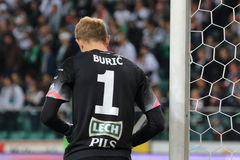 goalkeeper Photo stock