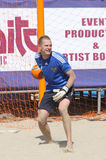 Goalkeeper Andrey BUKHLITSKIY of Russia Royalty Free Stock Photography