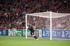 Goalkeeper Andriy Pyatov Stock Photos