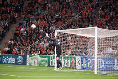 Goalkeeper Andriy Pyatov Stock Photography