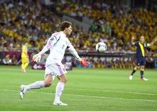 Goalkeeper Andriy Pyatov of Ukraine Royalty Free Stock Photography