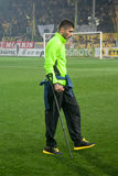 Goalkeeper of Aris team in football M. Sifakis Stock Photos