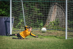 Goalkeeper Royalty Free Stock Photo