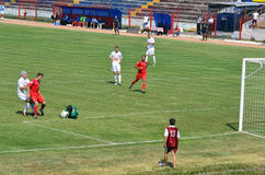 Goalkeeper defense Stock Photography