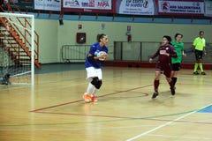 Goalkeeper girl Stock Photo