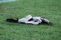 Goalkeeper gloves Stock Image