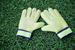 Goalkeeper Gloves stock photography