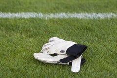 Goalkeeper gloves Stock Images