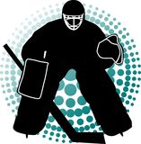 Goalkeeper hockey Stock Images