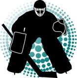 Goalkeeper hockey Stock Images