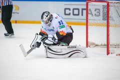 Goalkeeper Jakub Stepanek (33) Royalty Free Stock Photography