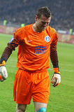 Goalkeeper Jan Lastuvka of FC Dnipro Royalty Free Stock Image