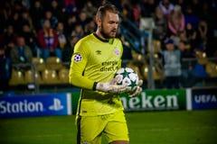 Goalkeeper Jeroen Zoet Royalty Free Stock Image